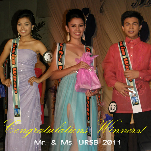 mr and ms ursb 2011